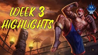 SUP  TCL 2019 Spring - Week 3 Highlights