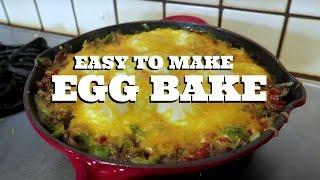 Easy to make Delicious Egg Bake