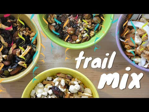 TRAIL MIX 4 ways �� | mila