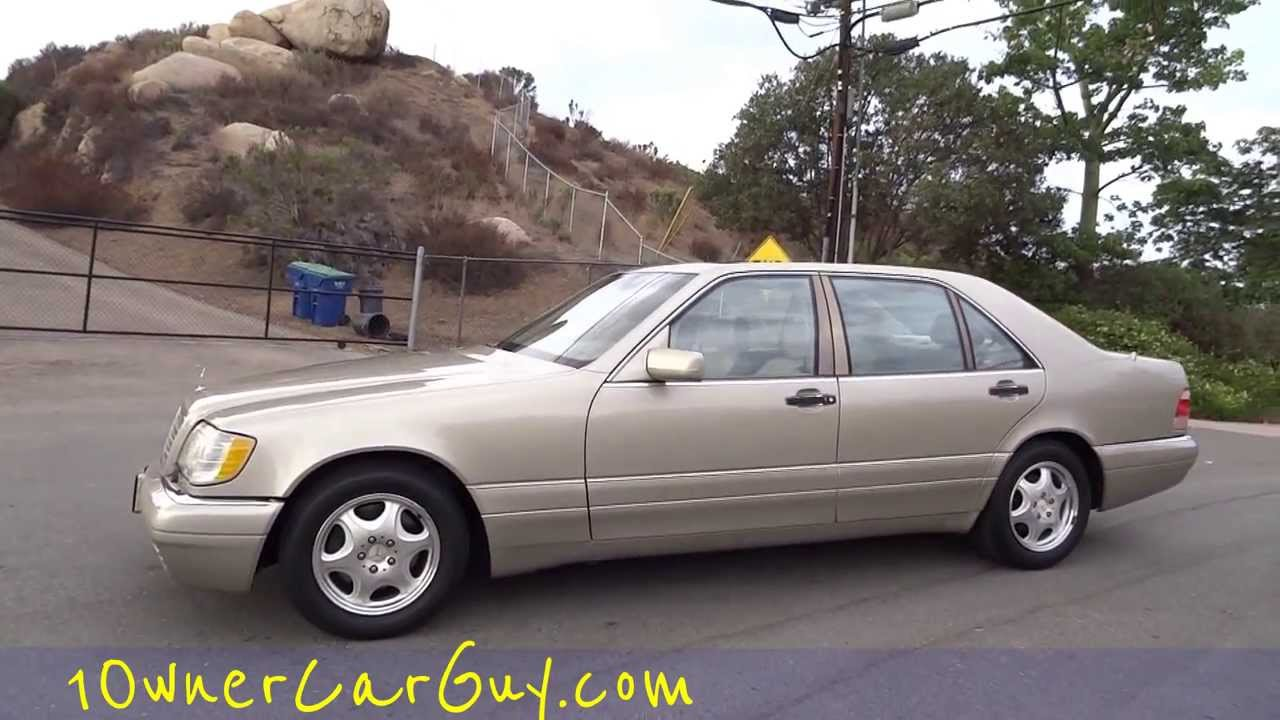 1999 mercedes benz s320 w140 3 2l big body saloon test drive walkaround video youtube