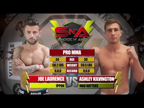 Shock N Awe 30 Free Fight: Pro MMA Ashley Kilvington Vs Joe Laurence