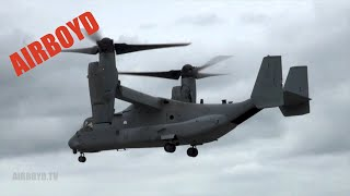 V-22 Osprey Demonstration - Farnborough 2012 (Monday)