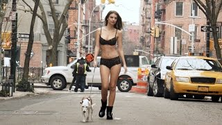 Emily Ratajkowski Walking A Dog In NYC Wearing Just Some Sexy Lingerie Is A Must-See (NSFW)