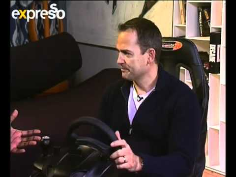The Stig 'Ben Collins' plays Gran Tourismo 5 13072011