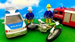 Strażak Sam i Wypadek na motorze ☺ Bajka dla dzieci po Polsku ☺ Fireman Sam