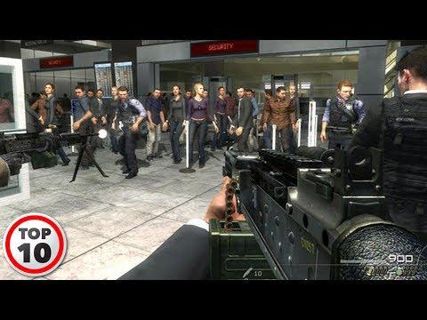Top 10 Shocking Scenes In Video Games