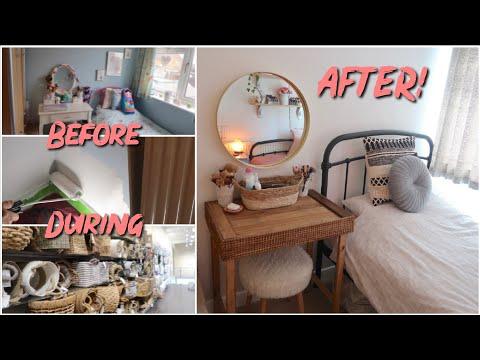 TRANSFORMING MY BEDROOM VLOG! (Boho Style)~lush leah