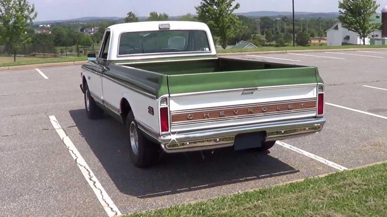All Chevy chevy cheyenne c10 : 1972 Chevrolet Cheyenne Super Long Bed Sold! - YouTube