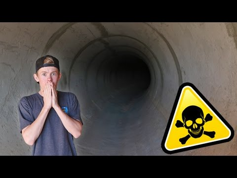 Thumbnail: ATTACKED INSIDE HAUNTED TUNNEL!