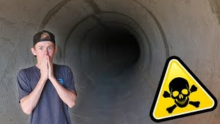 ATTACKED INSIDE HAUNTED TUNNEL!