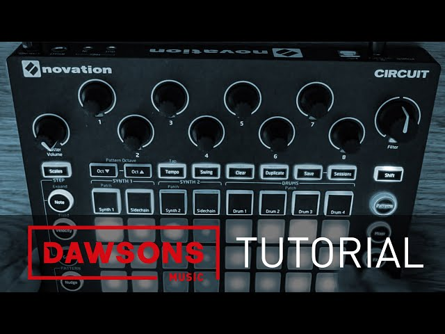 Novation Circuit Tutorial & Demo