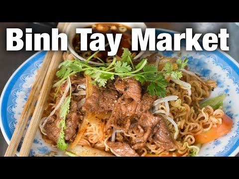 Binh Tay Market and Tour of Saigon's Chinatown (Chợ Lớn)