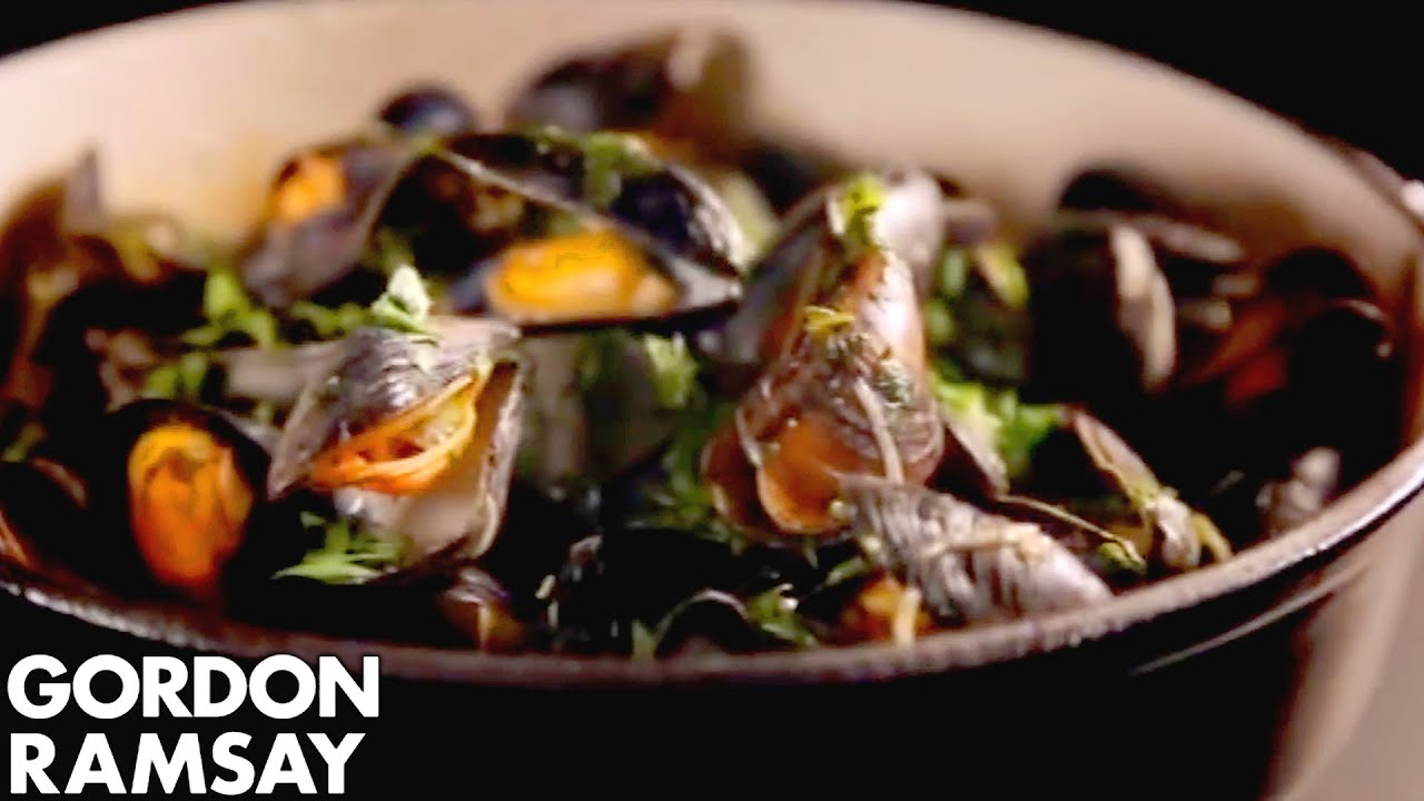 Mussels with celery and chilli gordon ramsay youtube ccuart Gallery