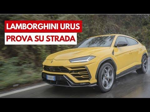 LAMBORGHINI URUS 2018   Prova su strada del SUV più esagerato