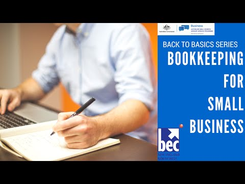 Basic Bookkeeping for Small Businesses