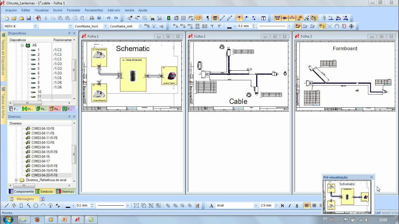 E3series Electrical Wiring Control Systems And Fluid Engineering Software E3 Series Mdulo Cable Youtube