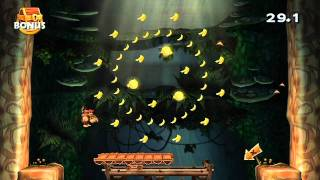 Donkey Kong Country Returns Playthrough (Part 12 of 16) - World 5: Forest