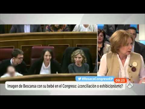 """Celia Villalobos, sobre Podemos: """"Me da igual que lleven rastas, pero que las lleven limpias para no pegarme piojos"""""""