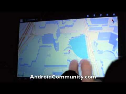Android Honeycomb 3.0 full-live demo!