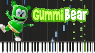 The Gummy Bear Song Synthesia Tutorial