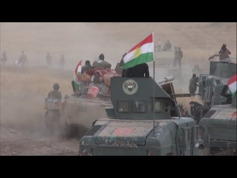 Battle for Mosul: Iraqi, Kurdish forces make gains against jihadists