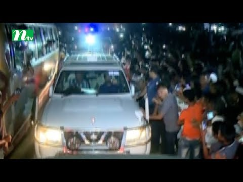 Khaleda Zia is on the way to Cox'sbazar from Chittagong