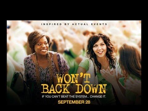 Drama - WON'T BACK DOWN - TRAILER | Maggie Gyllenhaal, Viola Davis, Oscar Isaac