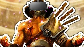 EXPERIENCE Being A GLADIATOR In VIRTUAL REALITY
