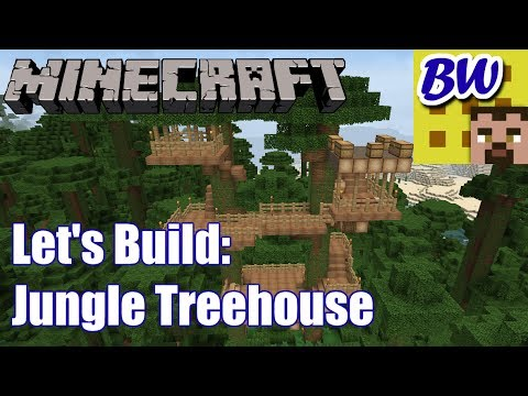 minecraft how to build a jungle