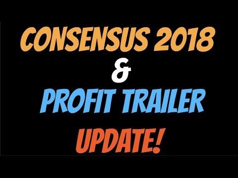 Profit Trailer Settings Updates & Coindesk Consensus 2018