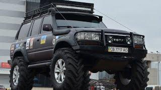 "Toyota Land Cruiser on the axles volvo c303 wheel 42"""