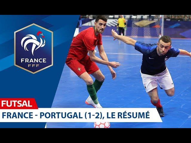 Futsal, France-Portugal (1-2), le résumé I FFF 2019-2020