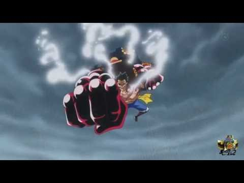 Luffy vs Doflamingo - Golpe Final