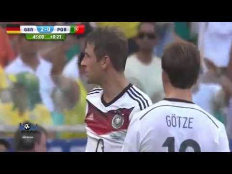 Germany vs Portugal 4 0 All Goals World Cup 2014