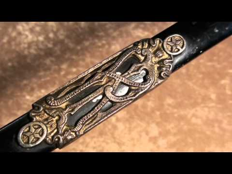 TheSwaggerplace Knights of Pythias Scabbard Black