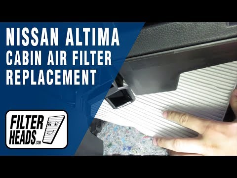 2017 Nissan Rogue Sport Cabin Air Filter Location