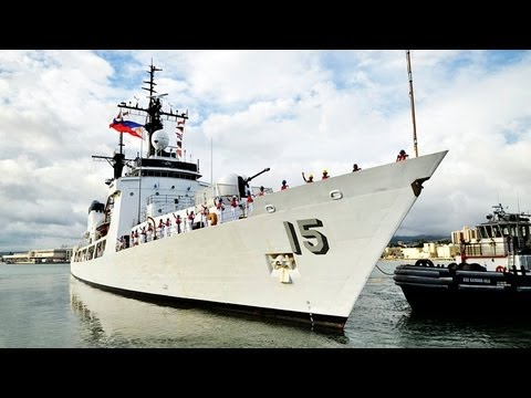 Philippines navy adds former U.S. Coast Guard ship to its arsenal