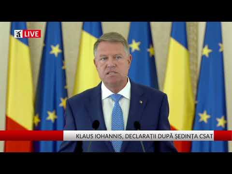 """Iohannis a suspendat şedinţa CSAT:  Tăierile bugetare sunt o """"şicană politică"""""""