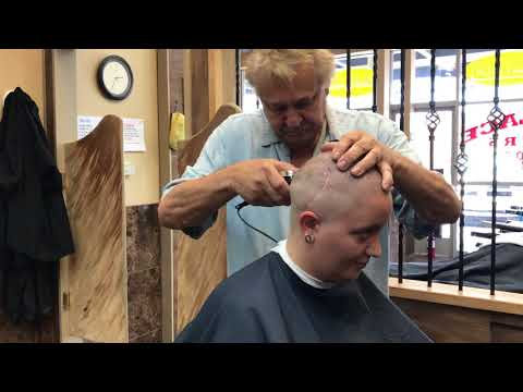TA77.net YouTube Original - Sheryl LV 3 (2017) She gets a crewcut