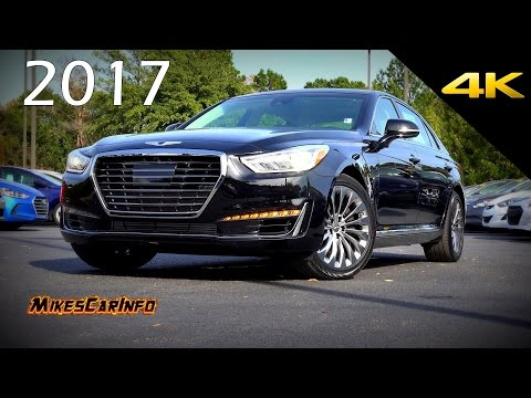 2017 Genesis G90 3.3T Premium Ultimate In Depth Look in 4K