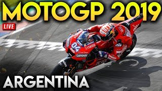 MotoGP В Аргентині 2019 Повну Гонку (Гран-2019 Мод Геймплей В Прямому Ефірі)