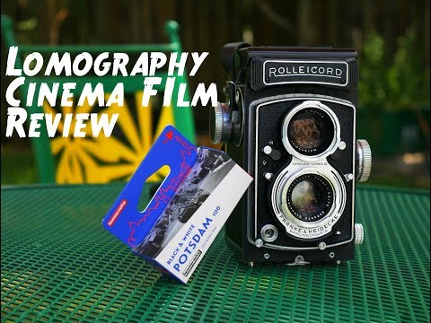 Lomography Potsdam Kino BW Cinema Film Review