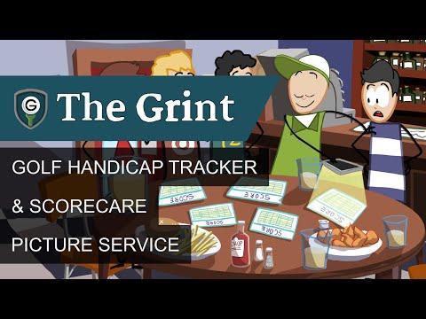 TheGrint Golf Handicap Tracker & Scorecard Picture Service