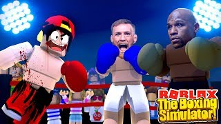 ROBLOX - THE BOXING SIMULATOR!!!