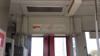 Coradia LINT (Br 623) Tür Öffnung und Schließvorgang mit akustischen Signal