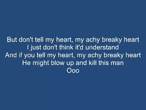 Billy Ray Cyrus Achy breaky hearth lyrics