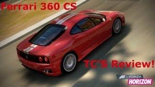 Forza Horizon | Ferrari 360 Challenge Stradale | Top Speed, Handling Test, Exhaust Sound And Review