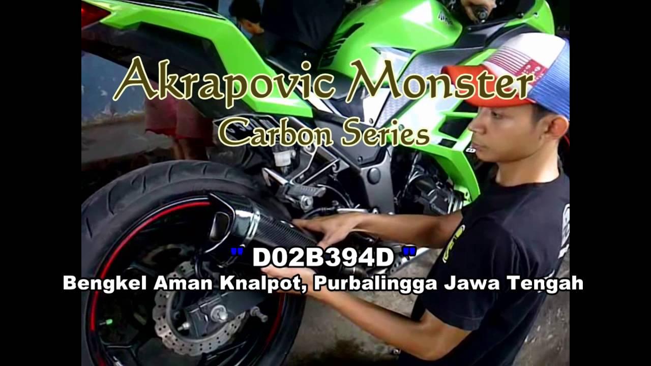 Ninja 250fi Akrapovic Monster Youtube Knalpot R9 Assen Kawasaki Bajaj Pulsar 200ns Full System Jiwenk Aman