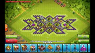 Triple XxX Base | Farming Base | Th8 Base Build | Clash Of Clans | Speed Built | Merciles Gaming