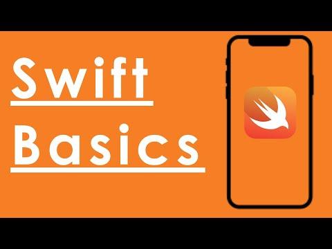 Swift Basics: MyFirstApp part 1 thumbnail